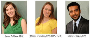 Supervisor Promotions - Delaware CPA Firm